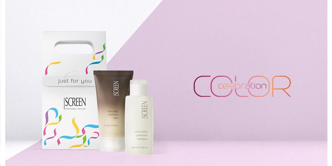 Color Celebration - Rinnova il tuo colore in salone e ricevi l'omaggio Screen