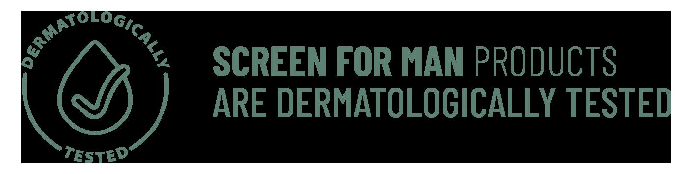 Screen For Man - prodotti dermatologicamente testati