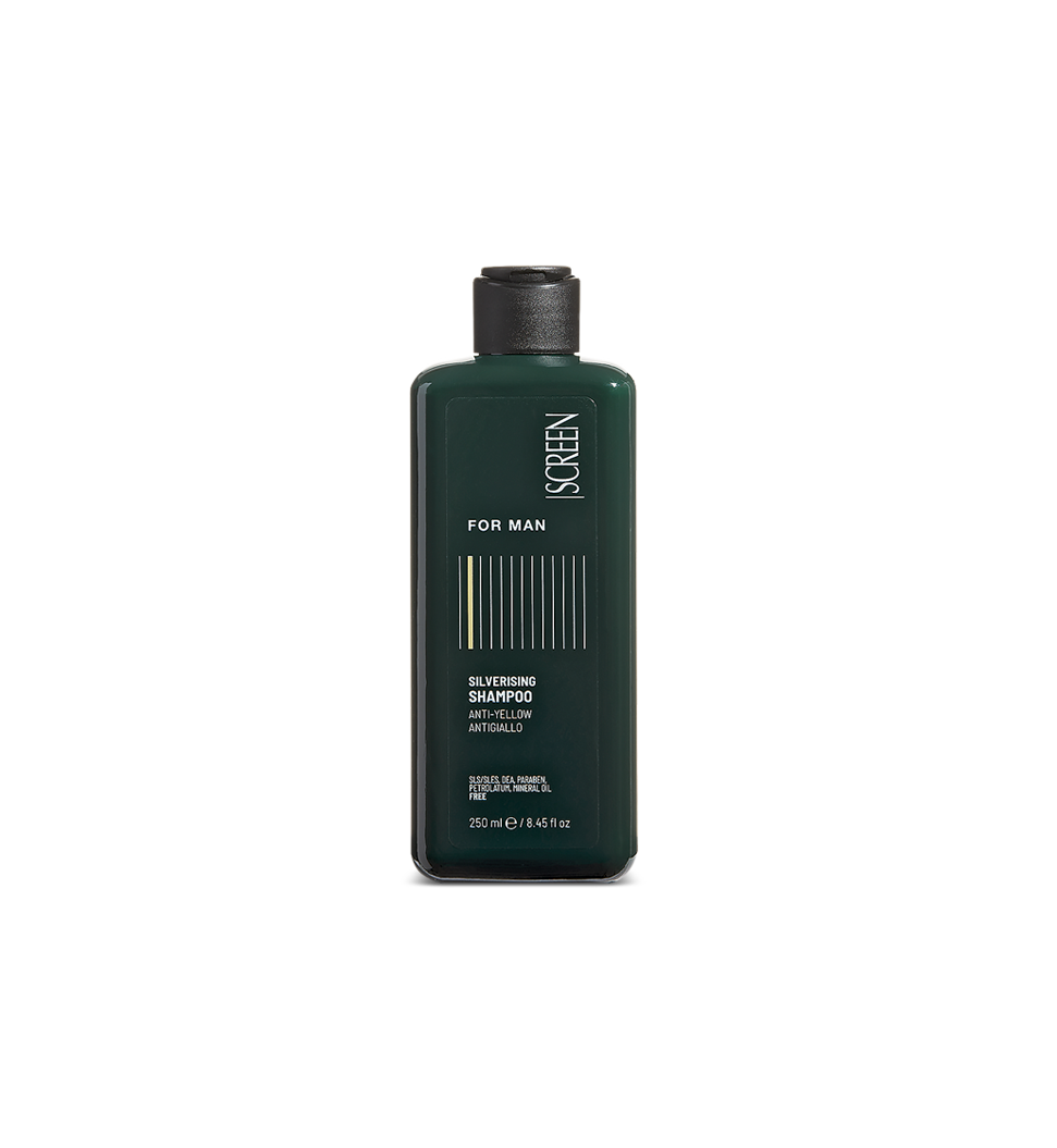 Anti-yellow shampoo for grey, white and bleached hair_0