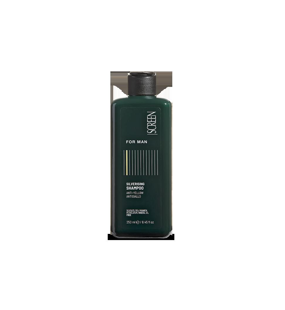 Shampoo antigiallo per capelli grigi, bianchi o decolorati_0