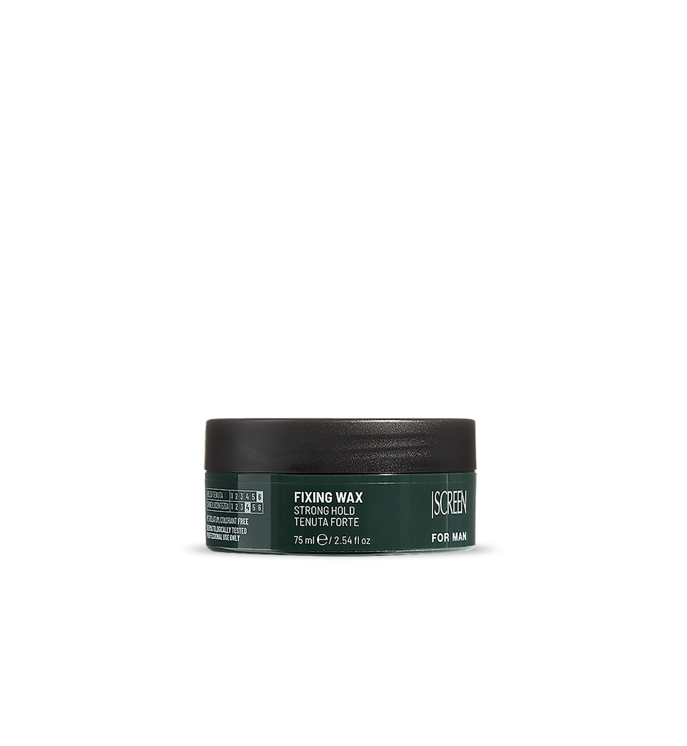 Strong hold shaping hair wax_0