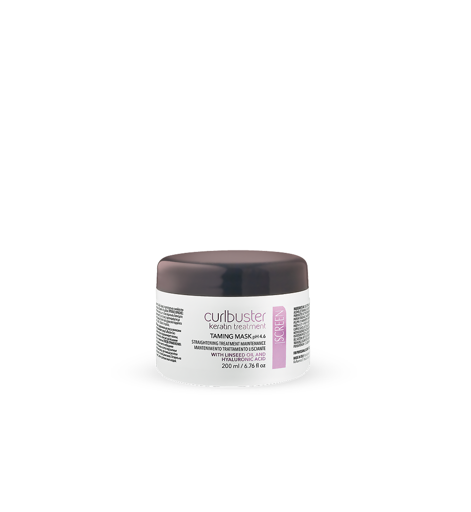 Post-straightening treatment maintenance hair mask_0