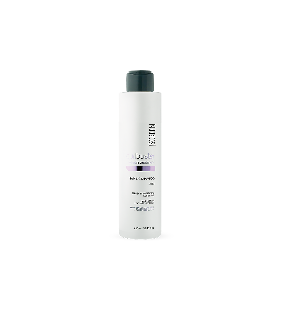 Post-straightening treatment maintenance shampoo_0