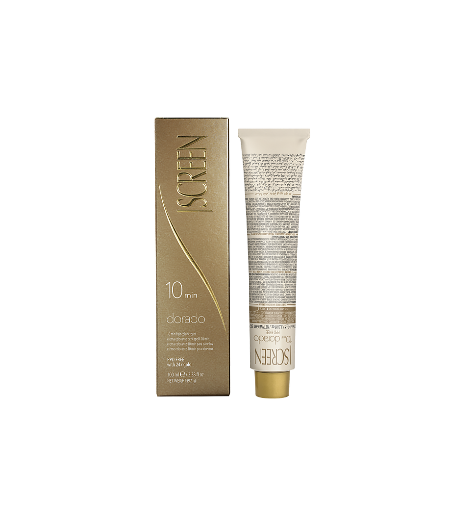 Hair coloring cream PPD free with 24K gold acting in only 10 minutes_0