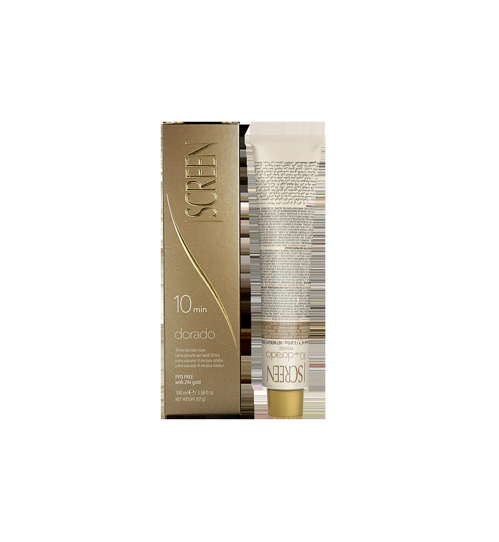 Crema colorante per capelli, senza PPD, con oro 24K ed efficace in 10 minuti_0