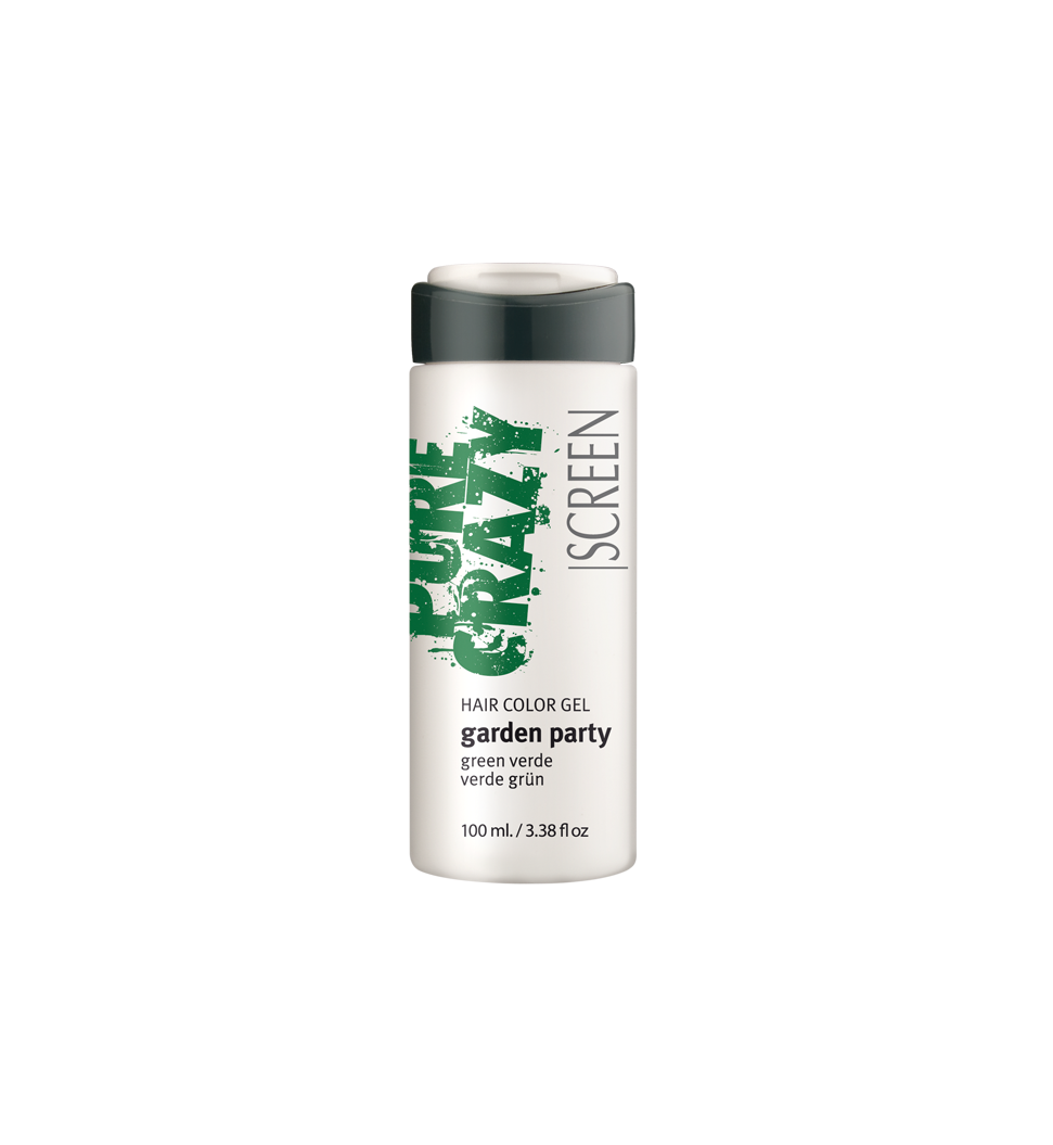Green coloring hair gel conditioner_0
