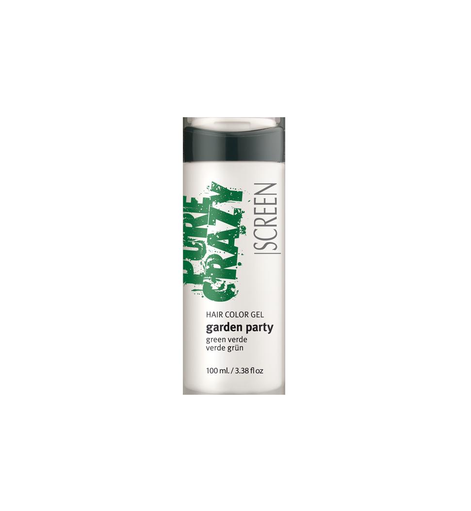 Condizionatore colorante in gel verde per capelli_0