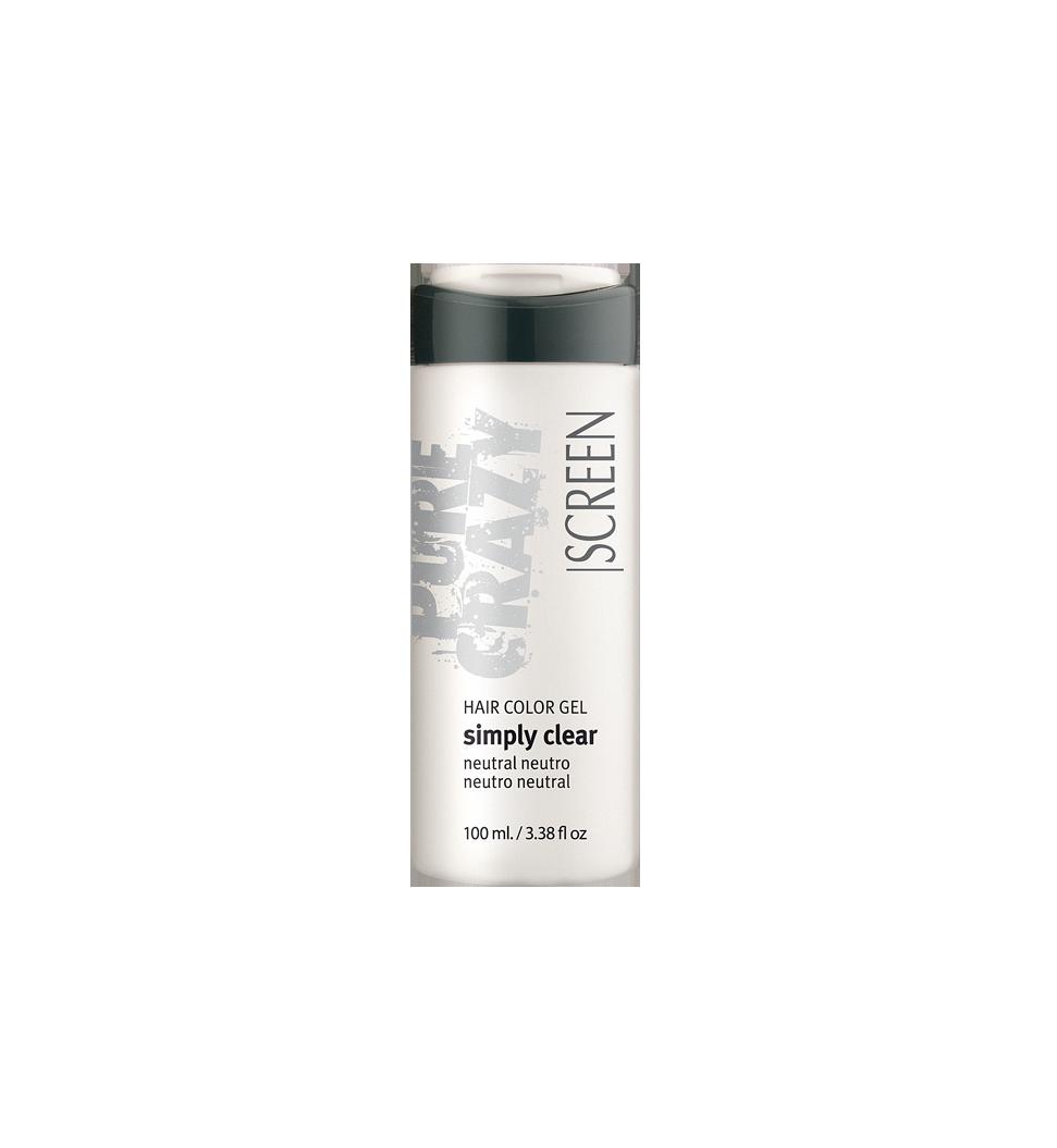 Silver coloring hair gel conditioner_0