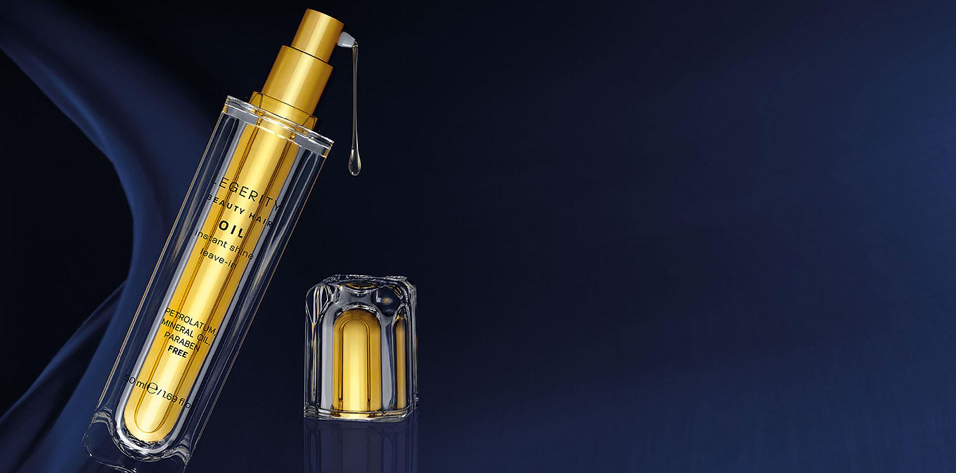 Legerity Oil - Olio Capelli effetto seta