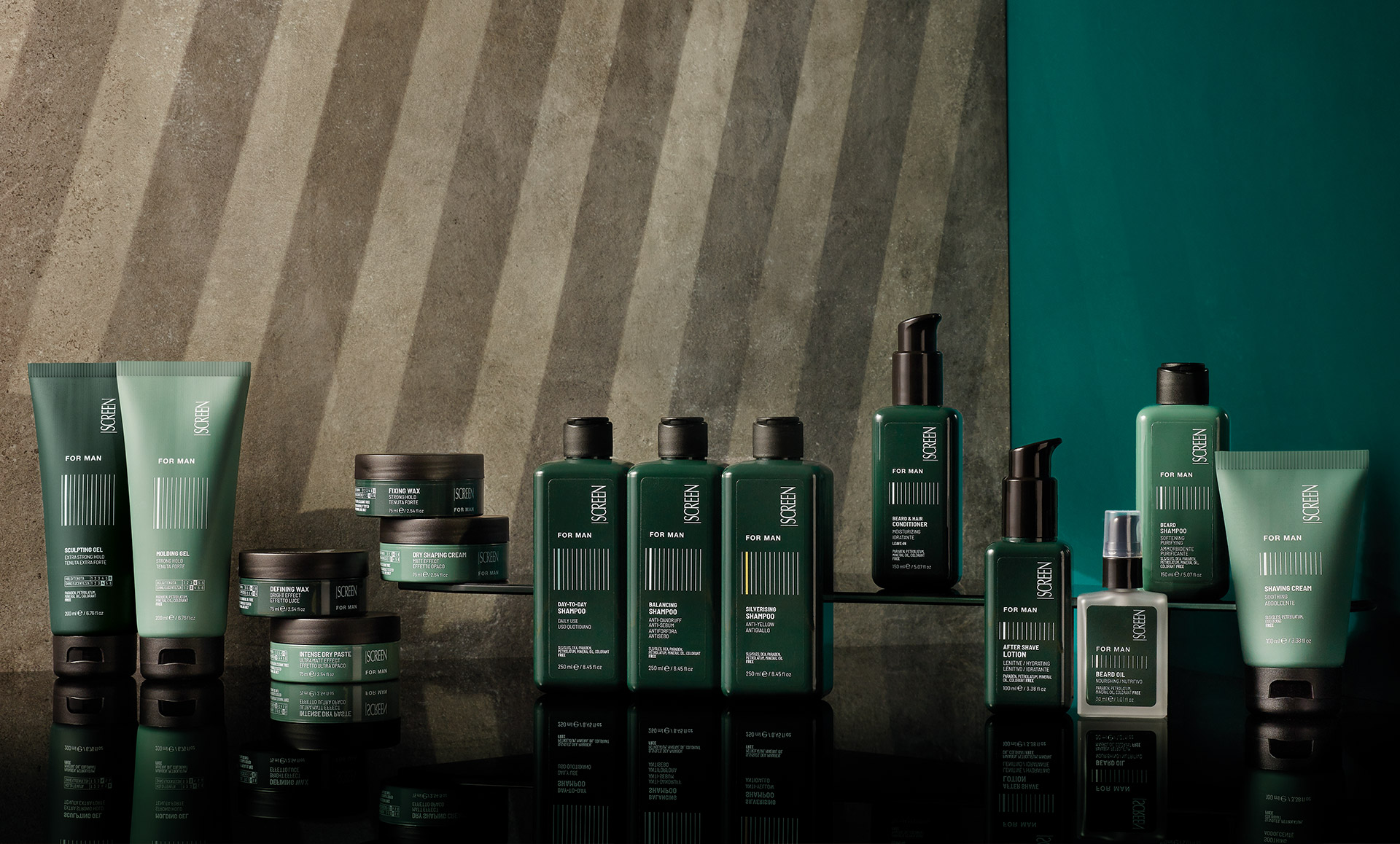Screen For Man - Linea Uomo Capelli Barba Screen Hair Care